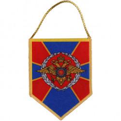 Вымпел АВТО пятигранник МВД герб РФ шелкография