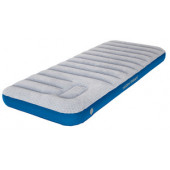 Матраc надувной Air bed Cross Beam Single Extra Long lightgrey/blue, 195x75x20, 40043