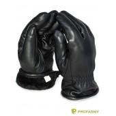 Перчатки кожаные NESLI на резинке