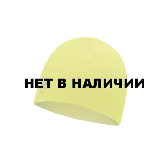 Шапка Buff Microfiber Reversible Hat R-Solid Yellow Fluor 118176.117.10.00