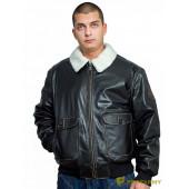 Куртка кожаная меховая 7164 Elvis Antico