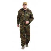 Костюм ТУРИСТ 3 куртка/брюки, цвет:, камуфляж НАТО, ткань : Грета