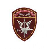 Нашивка на рукав Росгвардия Спецназ Центрального округа повседневная вышивка шелк