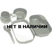 Портативный набор посуды CAMP-A-BOX® COMPLETE OLIVE, W10264