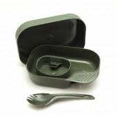 Портативный набор посуды CAMP-A-BOX® LIGHT OLIVE GREEN, W20264