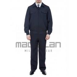 Костюм Юстиция габардин летний синий кант (куртка+брюки)