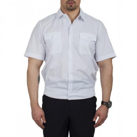 Рубашка Полиция белая короткий рукав