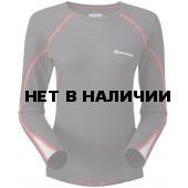 Футболка женская BIONIC L/S T, S steel/azure, FBLSTSTEB0