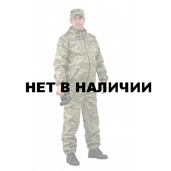 Костюм мужской Турист 1 летний, ткань Тиси сорочечная-облегченная, камуфляж Серый легион