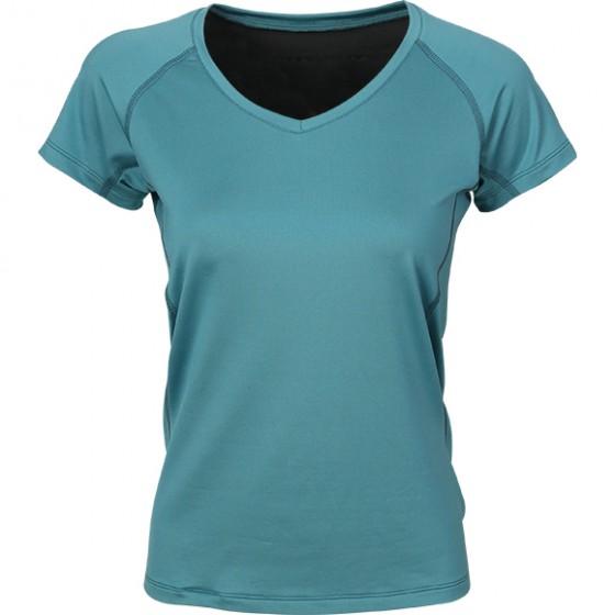 Термобелье футболка женская Sprint cyan