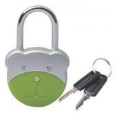 Брелок Замок Медвежонок с ключами (упак=10 шт), 3602