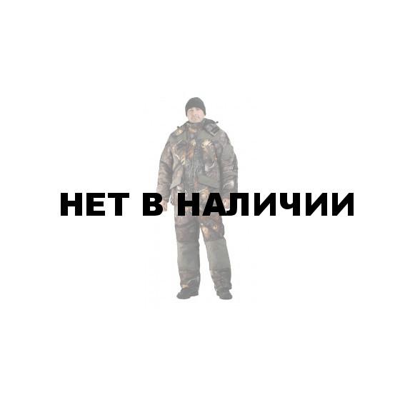 Костюм мужской Горка-Буран зимний, камуфляж т.Алова мембрана Сосновый бор