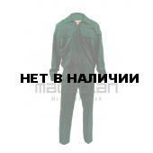 Костюм РОСГВАРДИЯ повседневный с длинным рукавом цвет сосна (ткань габардин) МПА-135-03