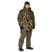 Костюм зимний ГОРКА 3 куртка/брюки, камуфляж: бежевые облака/темный хаки, Рип-Стоп смс/Грета смс