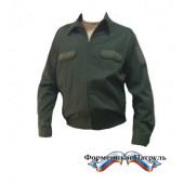 Куртка МО мужские (ткань рип-стоп 240, цвет зеленый)