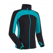 Куртка BASK CARYATID LJ черный/морская волна
