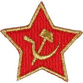 Термонаклейка -11201139 Soviet Star - Советская Звезда вышивка