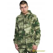 Куртка флисовая TERRA мох