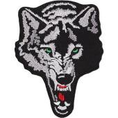 Термонаклейка -17581189 Злой волк вышивка