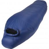Спальный мешок пуховый Adventure Extreme синий