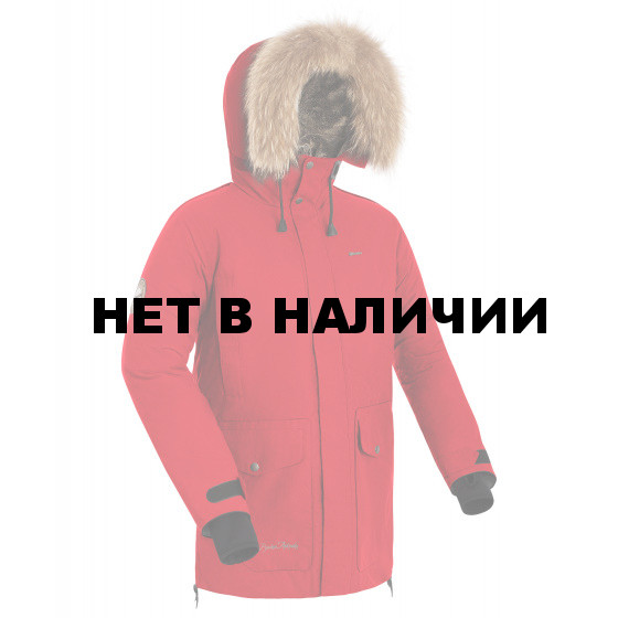 Куртка пуховая мужская BASK PUTORANA V2 красная