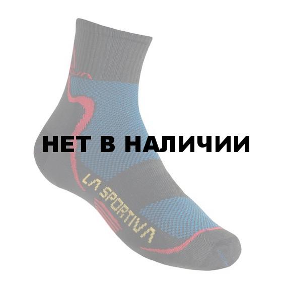 Носки MID DISTANCE SOCKS Black/Red, 29TBR
