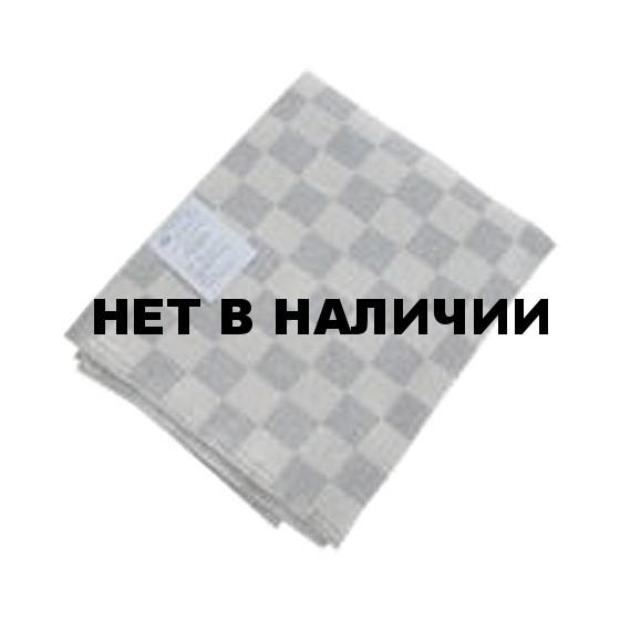 Одеяло детское 100 х 140 байковое серая клетка
