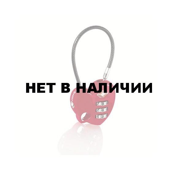 Кодовый замок Сердце с TSA доступом TSA Combination Lock - Heart (упак=10 шт) - 1 цвет, 3606
