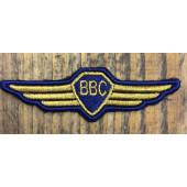 Нашивка крылышки ВВС с липучкой
