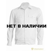 Рубашка Полиция, длинный рукав, белый
