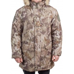 Куртка зимняя МПА-40 (аляска) (ткань мембрана) питон скала
