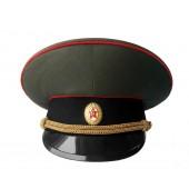Фуражка ВС СССР с черным околышем офицерская уставная