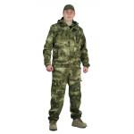 Костюм ТУРИСТ МОСКИТ куртка/брюки, цвет:, камуфляж Атака зелёный, ткань : Грета