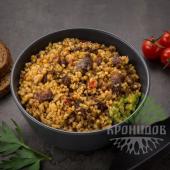 Готовое блюдо Каша пшенная с говядиной (Кронидов)