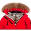 Куртка пуховая женская BASK IREMEL V2 темно-бордовая