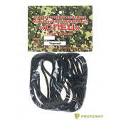 Шнурки Спецназ 220 см черные