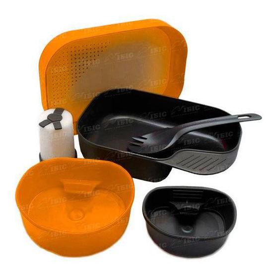 Портативный набор посуды CAMP-A-BOX® COMPLETE ORANGE, W10262