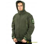 Куртка флисовая SHERPA PF3-03 олива