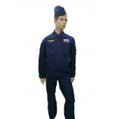 Полетный костюм ДЕЛЬТА 705 темно-синий рип-стоп