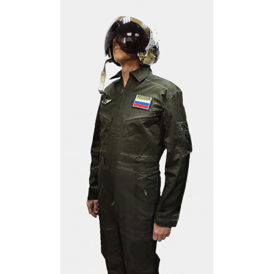 Комбинезон полетный ДФ-15 пыльно-зеленый грета