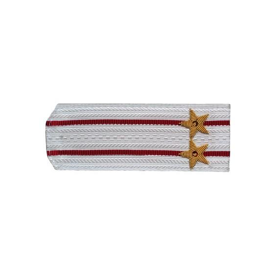 Погоны Росгвардия вышитые Подполковник парадные на белую рубашку