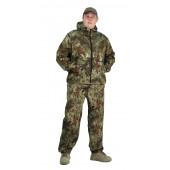 Костюм МАСКХАЛАТ-ГРЕТА куртка/брюки, цвет:, камуфляж Питон зелёный, ткань : Грета