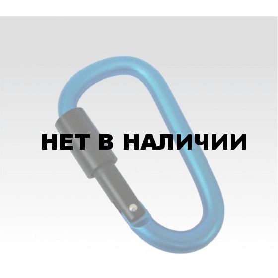 Карабин С закруч. замком,диам. 8мм (упак=10 шт), 3262
