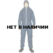 Комбинезон одноразовый ЗонГАРД синий р.ХL (Х50)