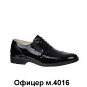 Туфли лакированные офицерские М4016