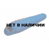 Спальный мешок BASK PLACID XS -14 синий тмн/серый тмн LEFT