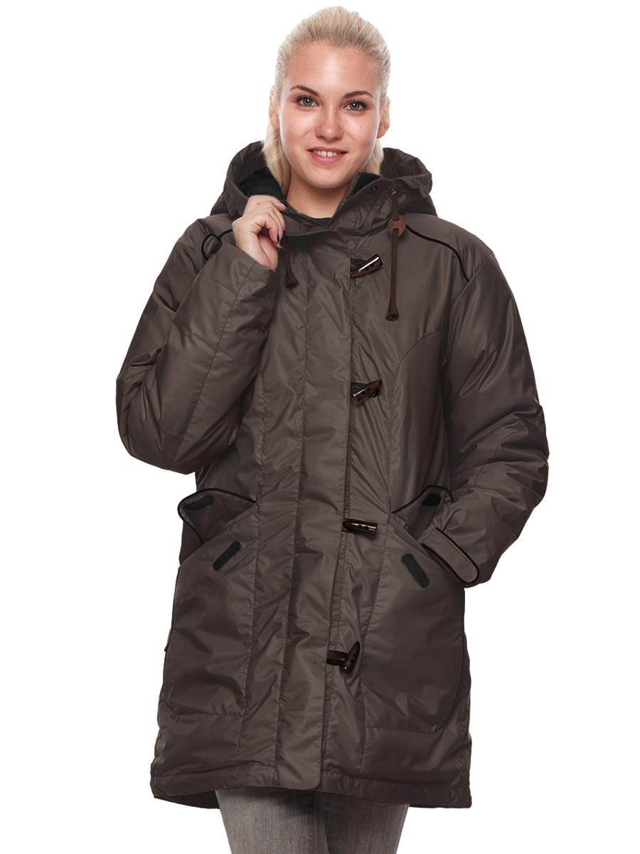 fec90a7e8e9 Куртка пуховая женская BASK ALBERTA коричневая