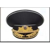 Фуражка ВМФ адмирал повседневная модельная золото