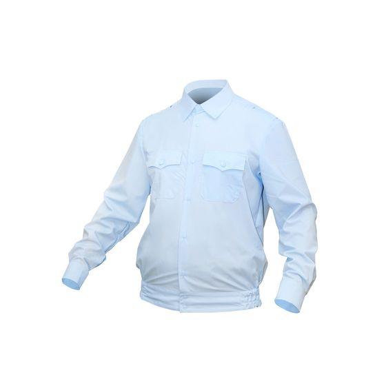 Рубашка Полиция светло-голубая длинный рукав