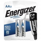 Батарейки Energizer Ultimate Lithium AA (2шт)